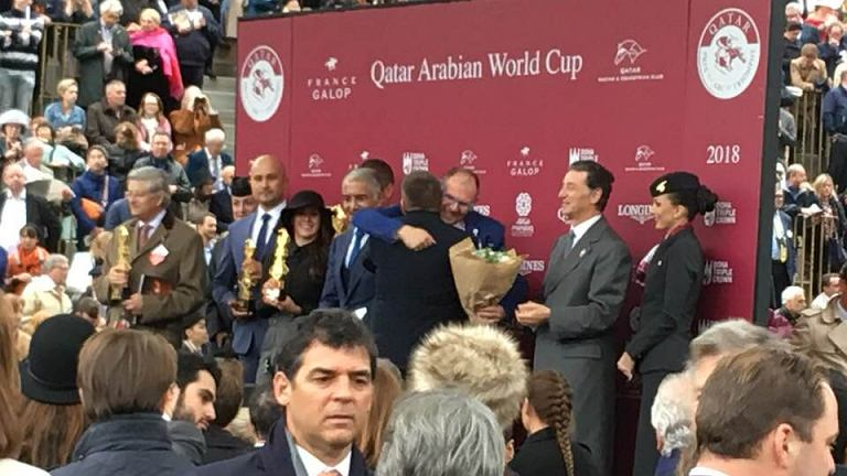 Fazza Al Khalediah wygrał gonitwę Quatar Arabian World Cup