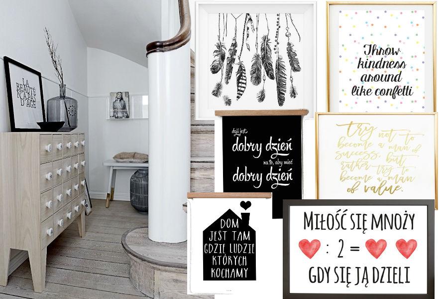 141c0ed27c4758 Plakaty z cytatami do Twojego mieszkania