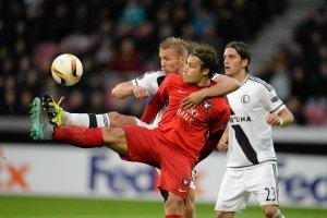 Liga Europy. FC Midtjylland przegra� mecz w lidze du�skiej