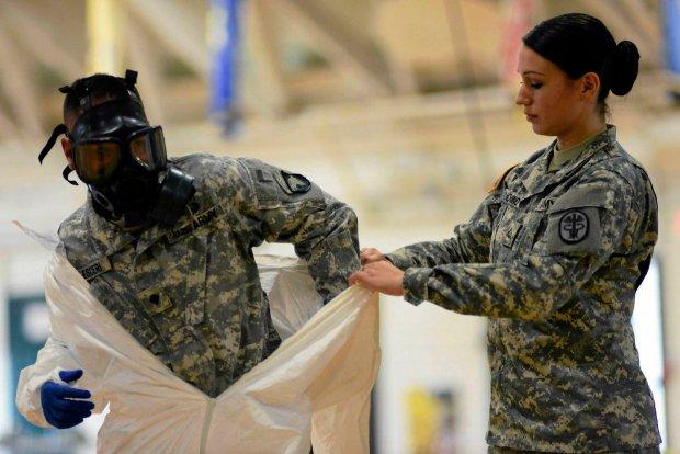 Ameryka�ska armia przygotowuje si� na wypadek konieczno�ci walki z ebol�
