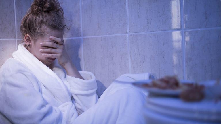 Bulimia najczęściej występują u kobiet w wieku 15-25 lat