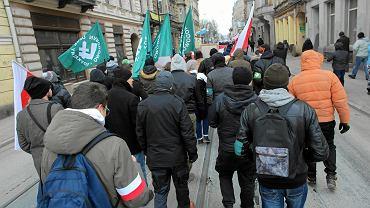 Marsz narodowców ku czci żołnierzy wyklętych