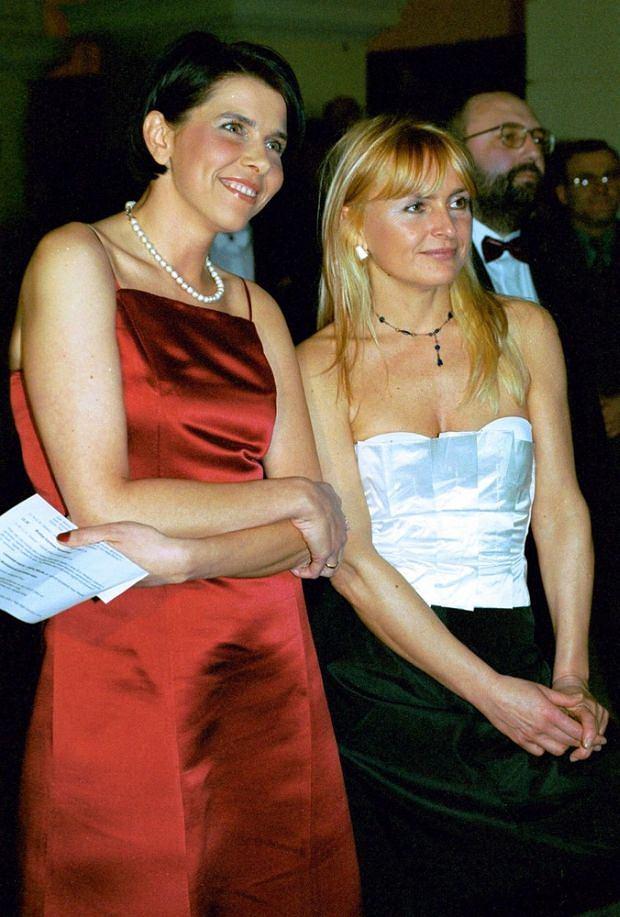 Monika Olejnik i Katarzyna Kolenda-Zaleska.