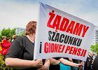 Strajk piel�gniarek Uniwersyteckiego Dzieci�cego Szpitala Klinicznego