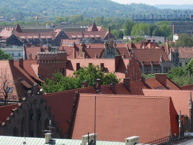 Kwartał uniwersytecki w Krakowie
