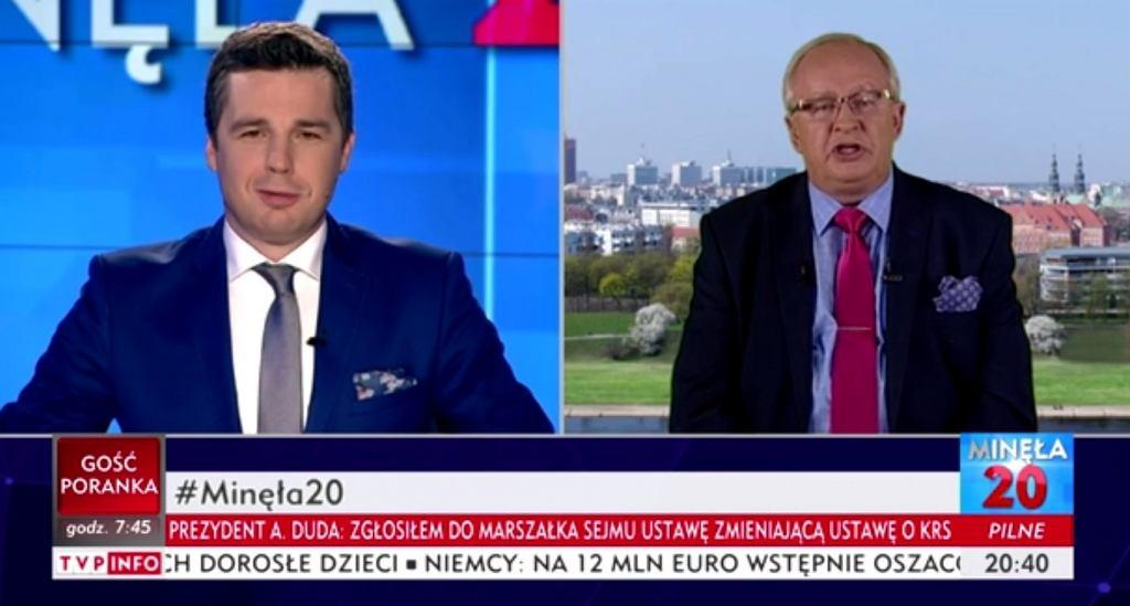 Roman Sklepowicz: Były Oficer Peerelowskich Służb Autorytetem TVP Info. 'Jak
