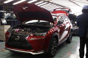 Pocz�tek produkcji Lexusa NX