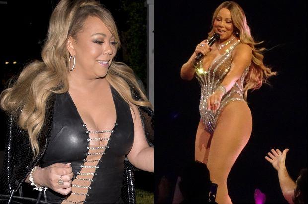 Mariah Carey zaprezentowała nową, szczupłą sylwetkę. Kilka miesięcy temu gwiazda miała rzekomo poddać się operacji zmniejszenia żołądka.