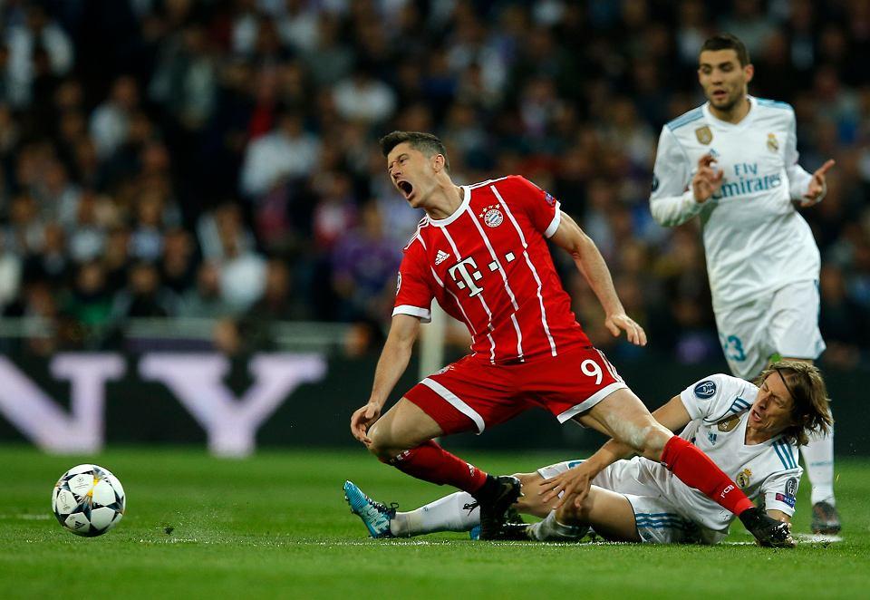 Robert Lewandowski, Real Madryt - Bayern