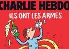 Fragment ok�adki Charlie Hebdo