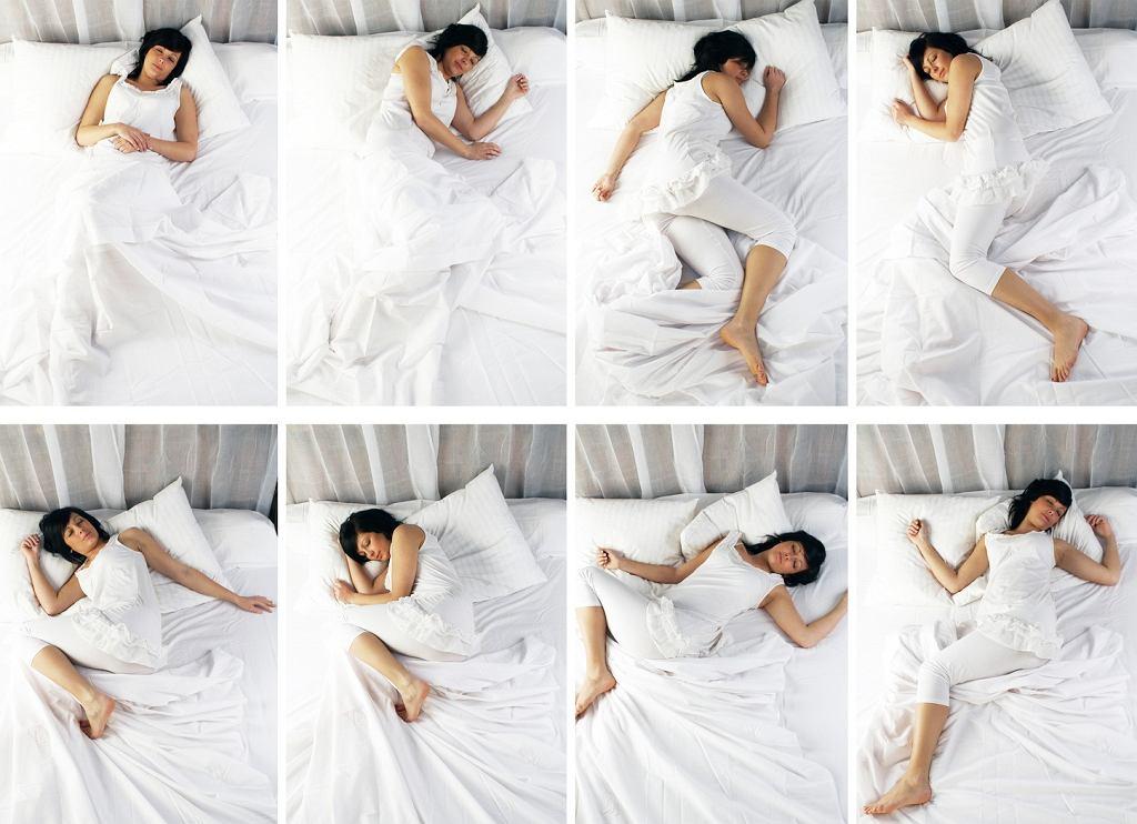 Dobór materaca powinien zależeć m.in. od pozycji w jakiej śpimy najczęściej