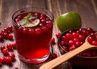 Domowy detoks: wzmacniający napój żurawinowy