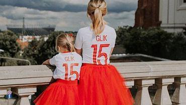 Marta Glik z córką