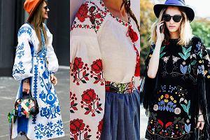 Folkowe inspiracje w modzie, czyli kultura ludowa spotyka miejski szyk