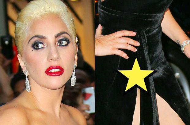 Lady Gaga wraz z innymi gośćmi świętowała 90. urodziny muzyka Tony'ego Benneta. Pojawiła się w bardzo ryzykownej kreacji. Efekt był jednak imponujący.