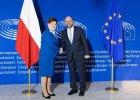 Debata o Polsce w Parlamencie Europejskim. Beata Szydło rozmawiała już z Martinem Schulzem