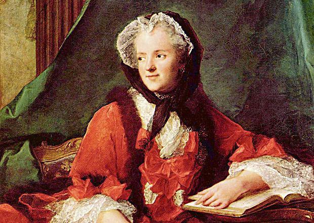 Maria Leszczyńska (1703-68) poślubiła króla Francji Ludwika XV w 1725 r. 'Ciągle się kochać, ciągle chodzić w ciąży i rodzić' - mówiła o swoim losie. Urodziła władcy dziesięcioro dzieci. Trzech jej wnuków zostało królami Francji: Ludwik XVI - panował w latach 1774-92, Ludwik XVIII - w latach 1814-24, z trzymiesięczną przerwą spowodowaną wojną po ucieczce Napoleona z Elby, i Karol X - w latach 1824-30.