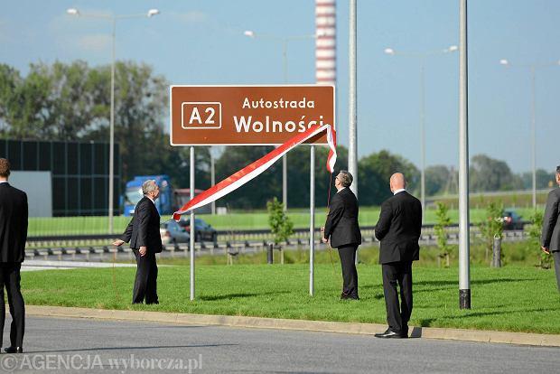 A2 to teraz Autostrada Wolno�ci. Zaczyna si� w Konotopie