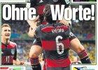M� 2014. Brazylia - Niemcy 1:7. Niemieckie media: Brazylia w wodospadzie �ez