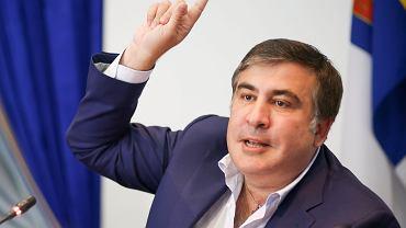 Były prezydent Gruzji i gubernator Odessy Micheil Saakaszwili