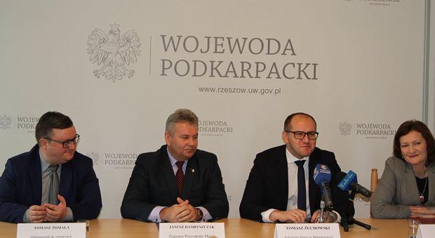 W obecności wojewody podkarpackiego Ewy Leniart podpisano porozumienie w sprawie programu Mieszkanie Plus