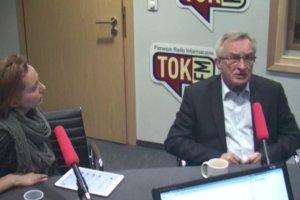Wo�ek: Kaczy�ski chce wyj�� z Unii, chce izolacji Polski. Oczywi�cie po wyci�gni�ciu ile si� da pieni�dzy z tej okropnej UE