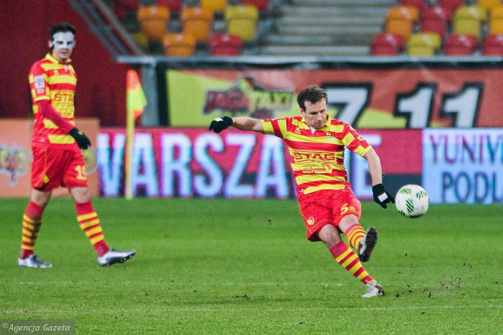 Jagiellonia Białystok - Pogoń Szczecin 0:0. Konstantin Vassiljev