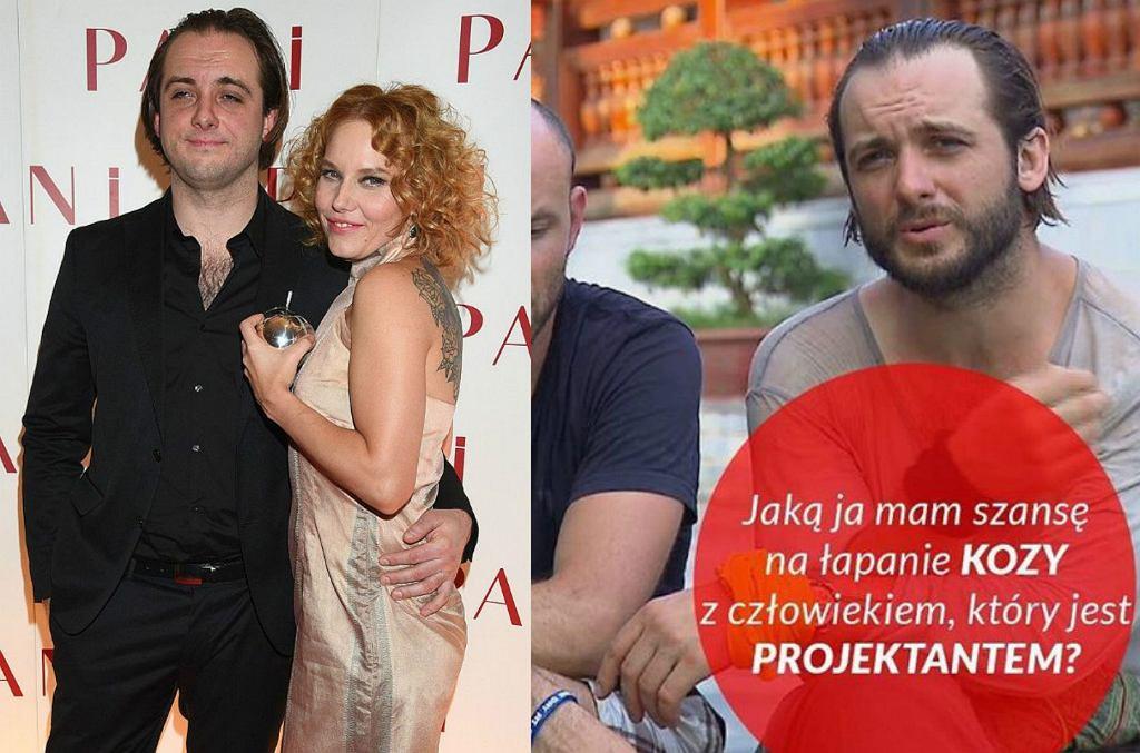 Michał Żurawski i Roma Gąsiorowska