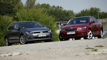 Skoda Octavia kontra Volkswagen Golf