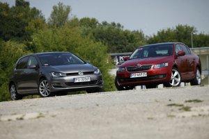 Skoda Octavia | Test d�ugodystansowy cz. IV | Bratob�jczy pojedynek z VW Golfem