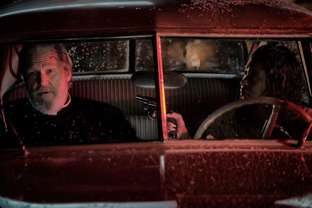 Jeff Bridges i Cynthia Erivo w filmie  'Źle się dzieje w El Royale'. / KIMBERLEY FRENCH