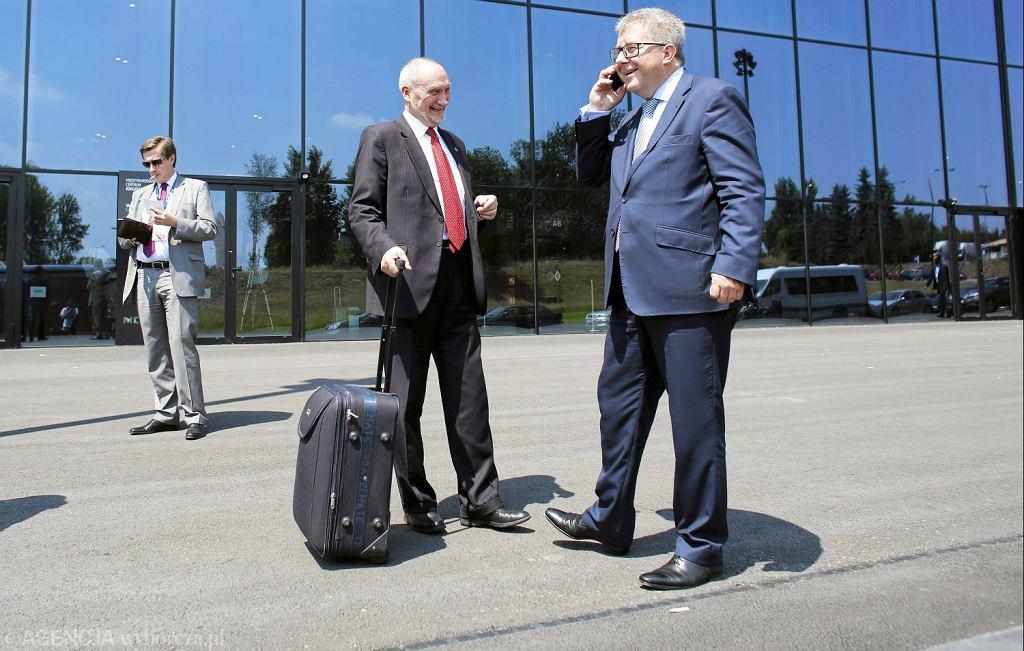 Ryszard Czarnecki i Antoni Macierewicz