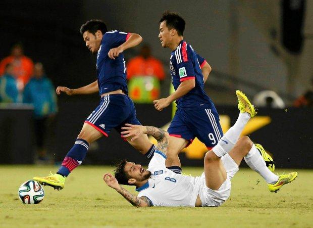 Japonia - Grecja 0:0