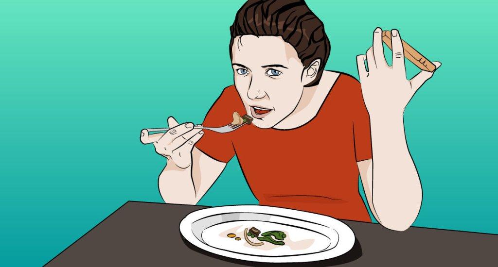 Ci, którzy jedzą powoli, lubią mieć wszystko pod kontrolą