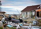 P�nocne wybrze�e USA po przej�ciu huraganu Sandy. Zdj�cie z filmu Huragan Sandy: chaos w wielkim mie�cie. Emisja 25.11 o godz. 22:00 na National Geographic Channel