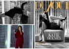 """Katie Holmes w strojach Armaniego, Dolce & Gabbana i Diora w wyrafinowanej sesji dla """"DuJour Magazine"""" [ZDJ�CIA]"""