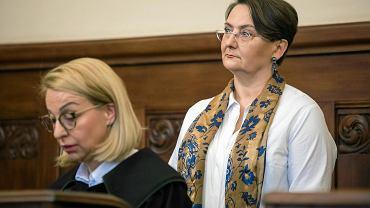 11 kwietnia 2018 r. Pierwsza rozprawa w procesie Joanny Jaśkowiak, żony prezydenta Poznania, obwinionej o 'publiczne użycie słowa nieprzyzwoitego'