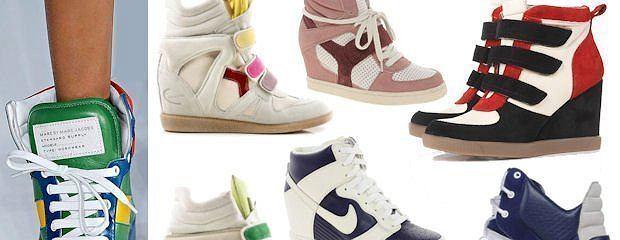 Trend alarm: sportowe buty na koturnie