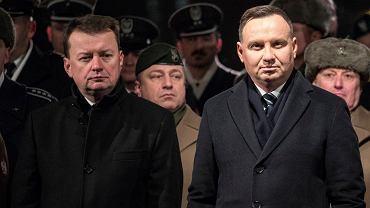 Mariusz Błaszczak, Andrzej Duda