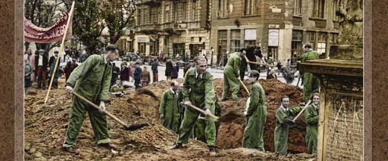 Powojenne zdj�cia Warszawy w kolorze! Zobacz, jak wygl�da�o �ycie warszawiak�w