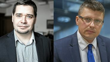 Michał Królikowski i Marcin Warchoł