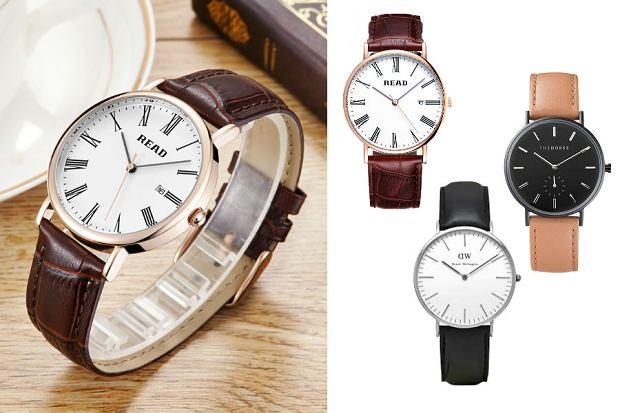 Eleganckie zegarki męskie