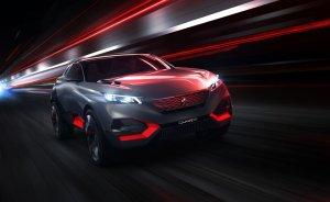 Salon Paryż 2014 | Peugeot Quartz Concept