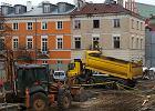 Rozpoczęli rozbiórkę kamienicy przy pl. Zamkowym