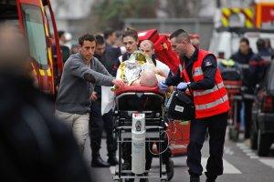"""Pary�: Po ataku na redakcj� satyrycznego pisma """"Charlie Hebdo"""" wprowadzono najwy�szy poziom zagro�enia terrorystycznego"""