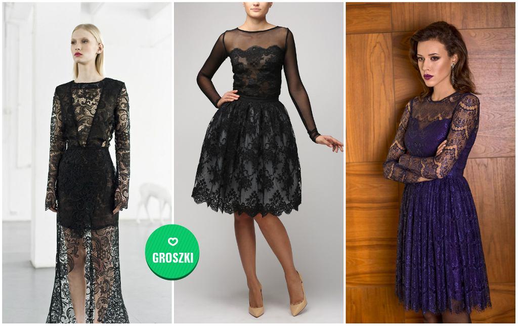 9dee06178a Koronkowe sukienki na każdą okazję