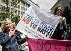 """Szczyt NATO w Warszawie. Protest na Mysiej: """"Szpitale zamiast czołgów"""""""
