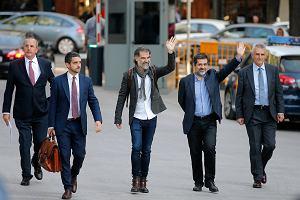 Dwóch przywódców katalońskich nacjonalistów tymczasowo aresztowanych za bunt przeciw władzy centralnej