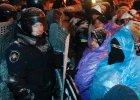 Ukraina: wielka milicyjna akcja oczyszczania Kijowa [PODSUMOWANIE]