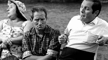 Kadr z filmu 'Rejs'